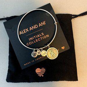 Alex & Ani Initial Bracelet (S)